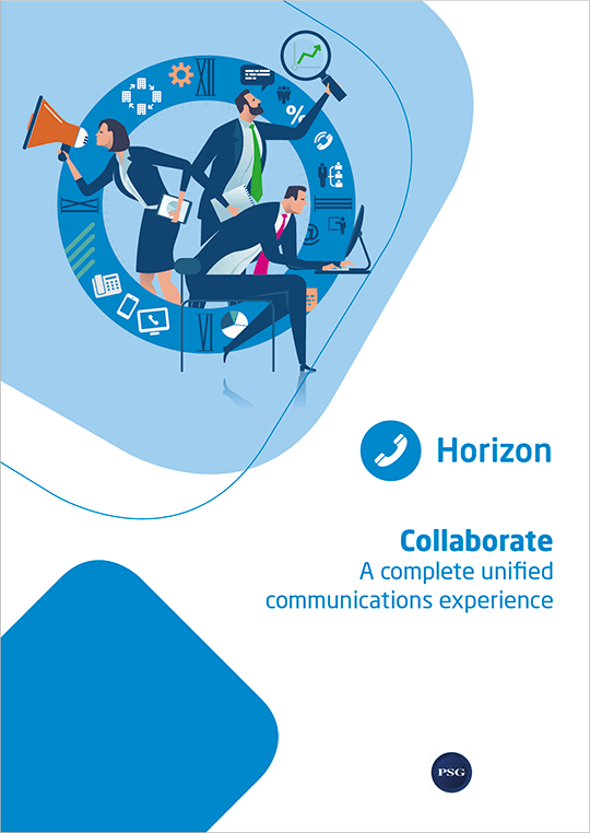 Horizon Collaborate brochure cover
